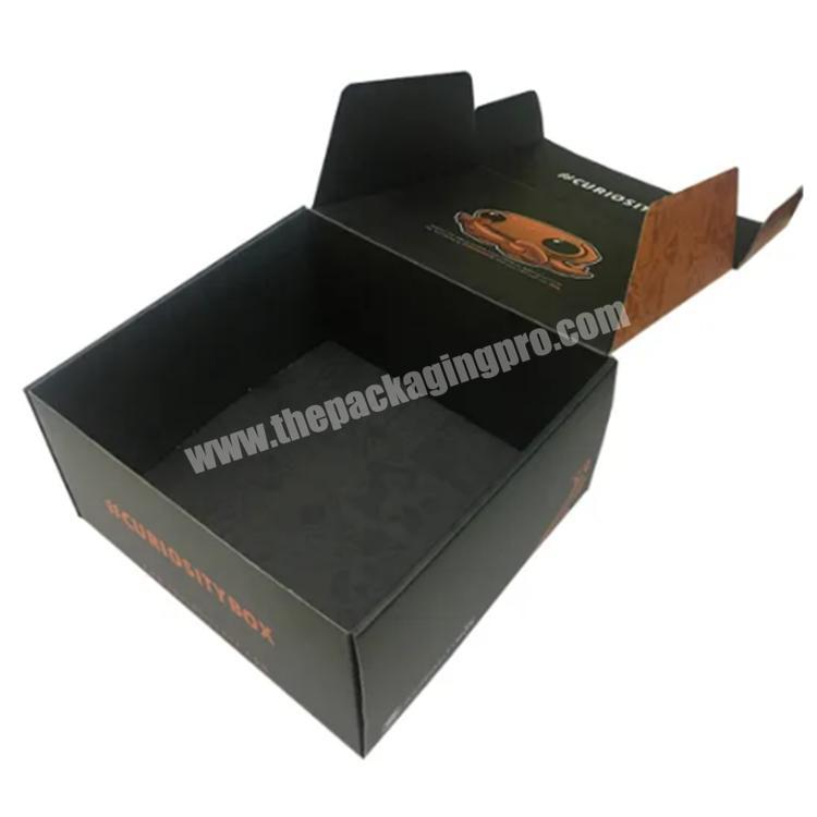 Wholesale shipping boxes custom logo colored shipping box packaging boxes