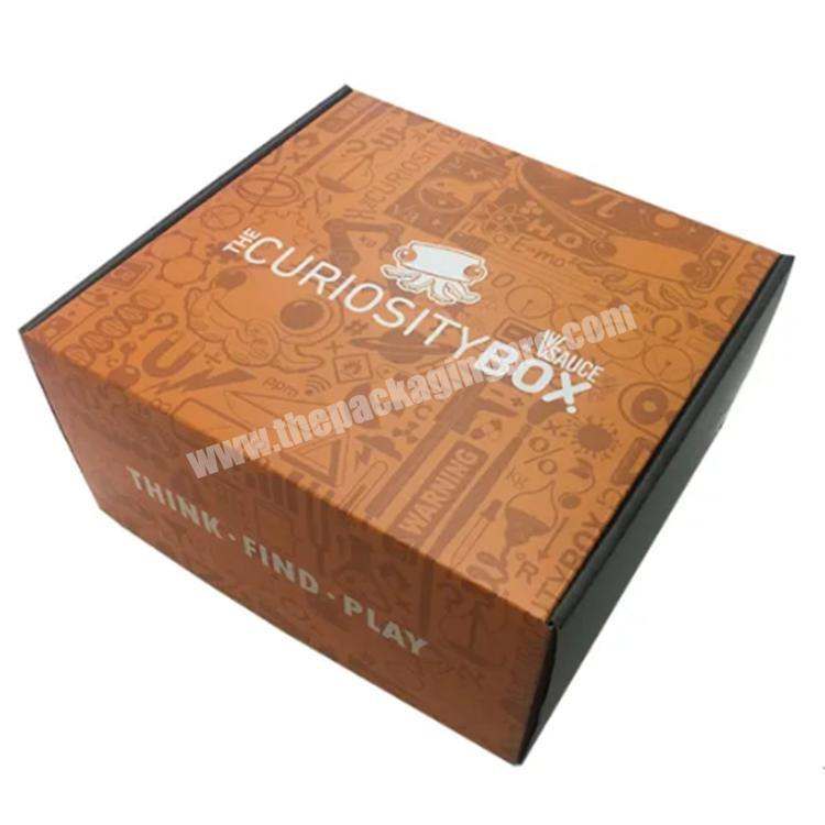 Factory shipping boxes custom logo colored shipping box packaging boxes