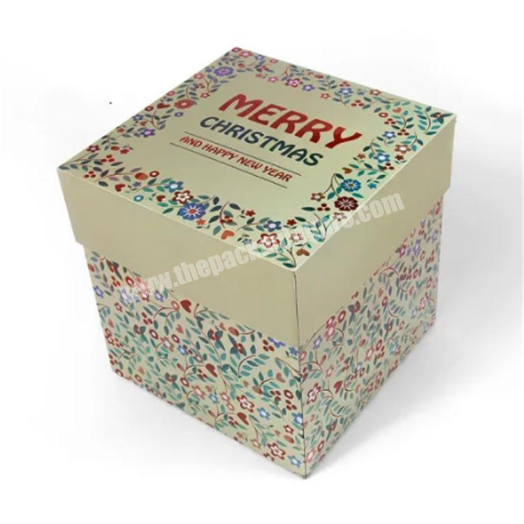 shipping boxes wholesale gift boxes with lids custom packaging box