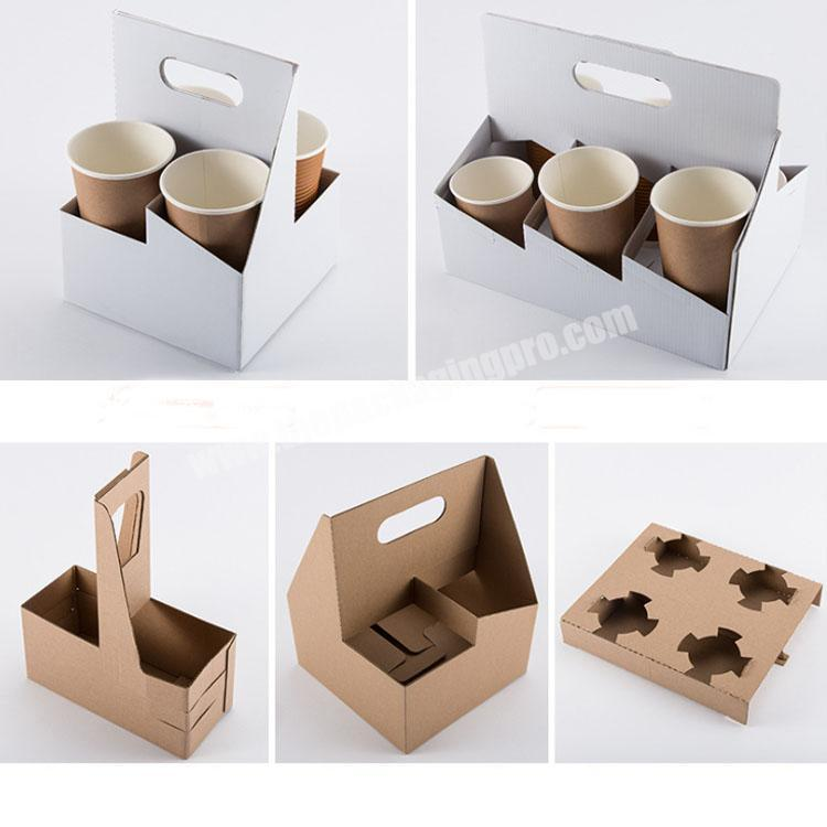 Factory shipping boxes with handle food packing box cardboard display box