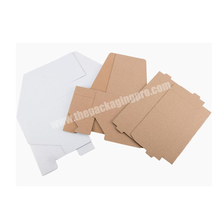 Wholesale shipping boxes with handle food packing box cardboard display box