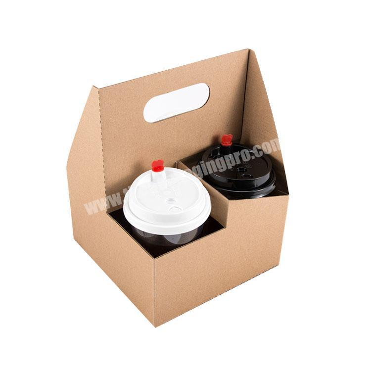 Manufacturer shipping boxes with handle food packing box cardboard display box