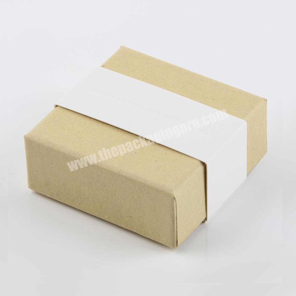small cardboard soap packaging craft box recycle