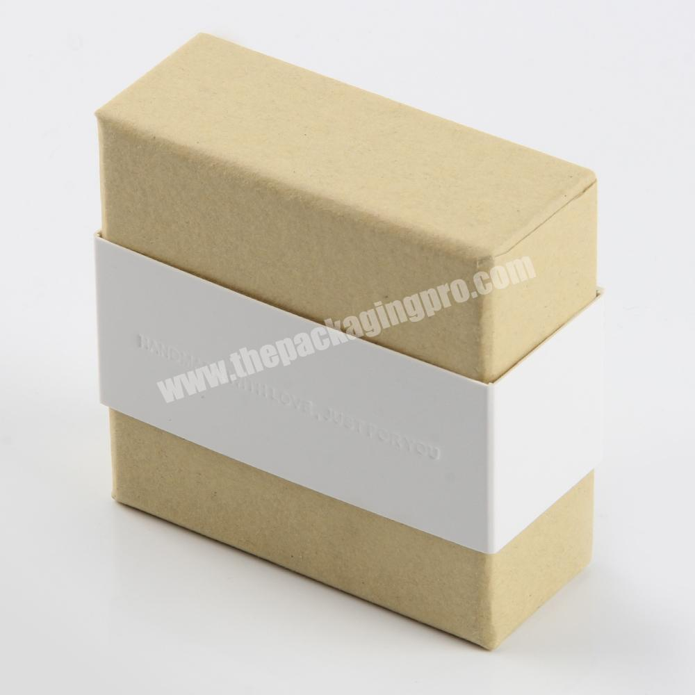 Supplier small cardboard soap packaging craft box recycle