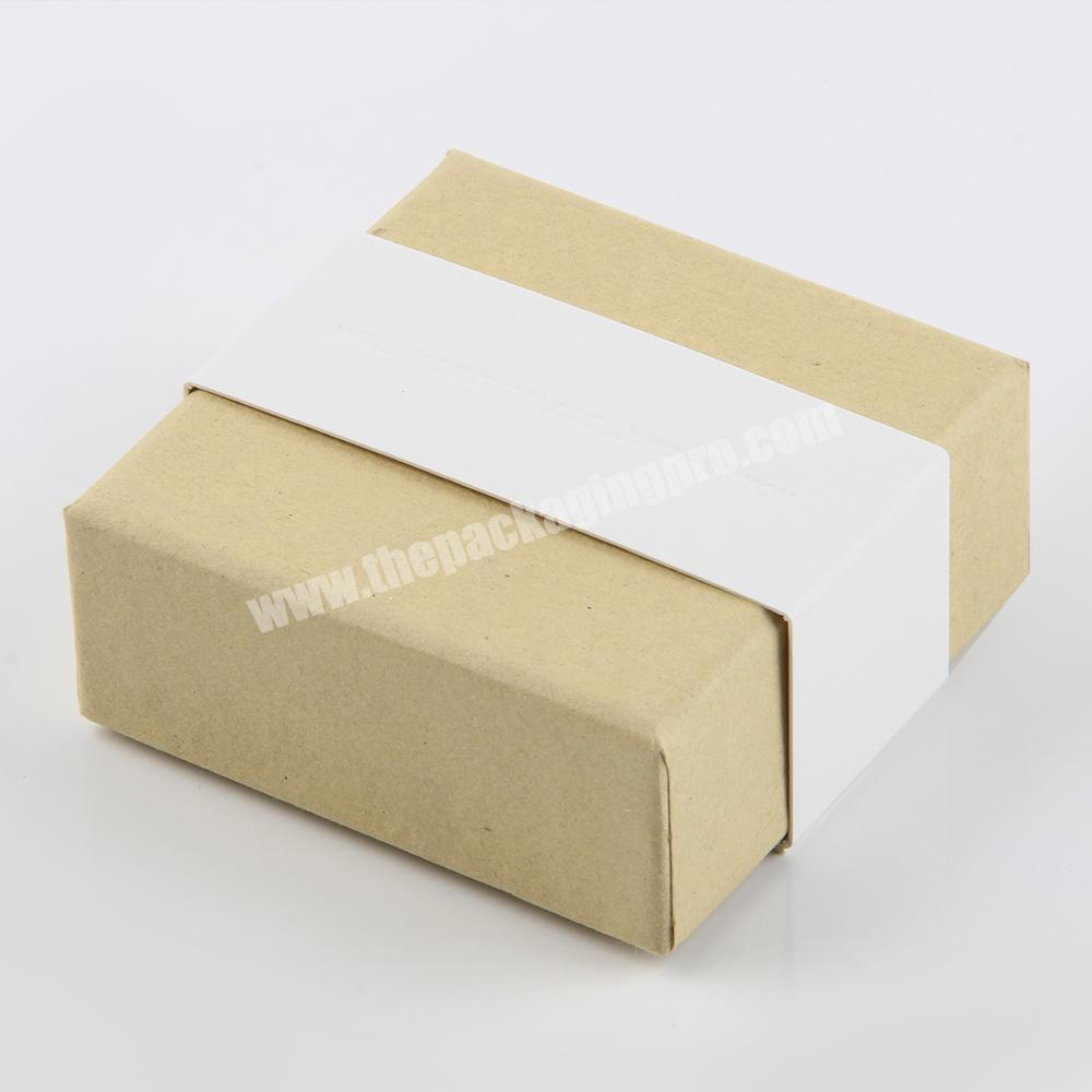 Factory small cardboard soap packaging craft box recycle