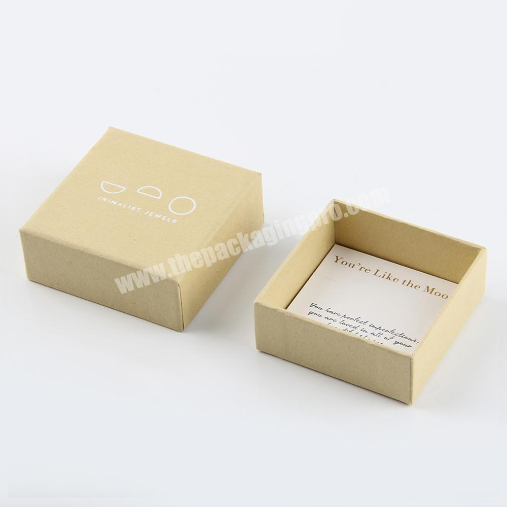Manufacturer small cardboard soap packaging craft box recycle