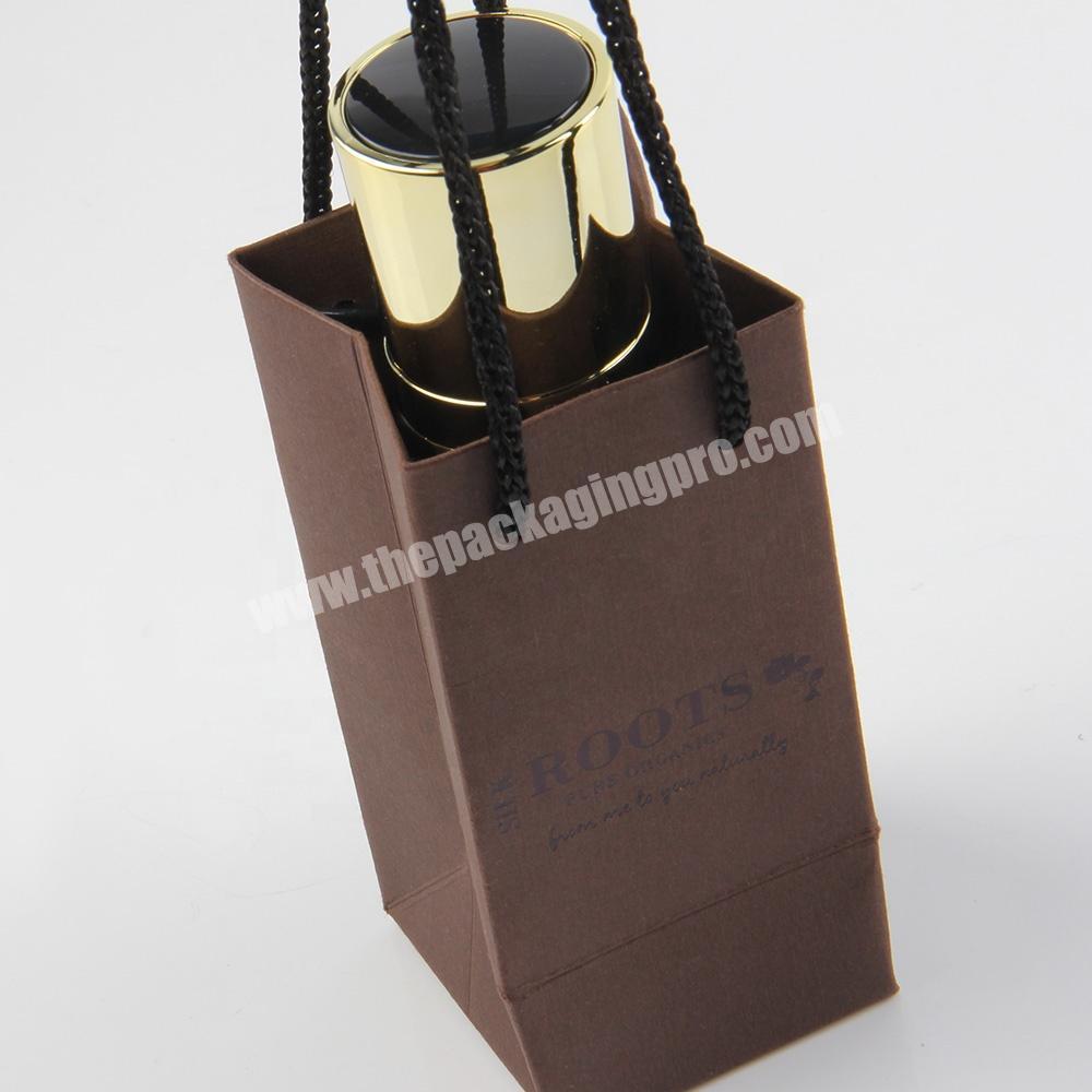 Supplier small mini spot uv private label jewelry paper bag
