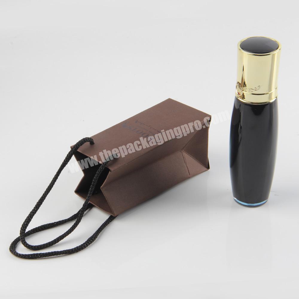 Shop small mini spot uv private label jewelry paper bag