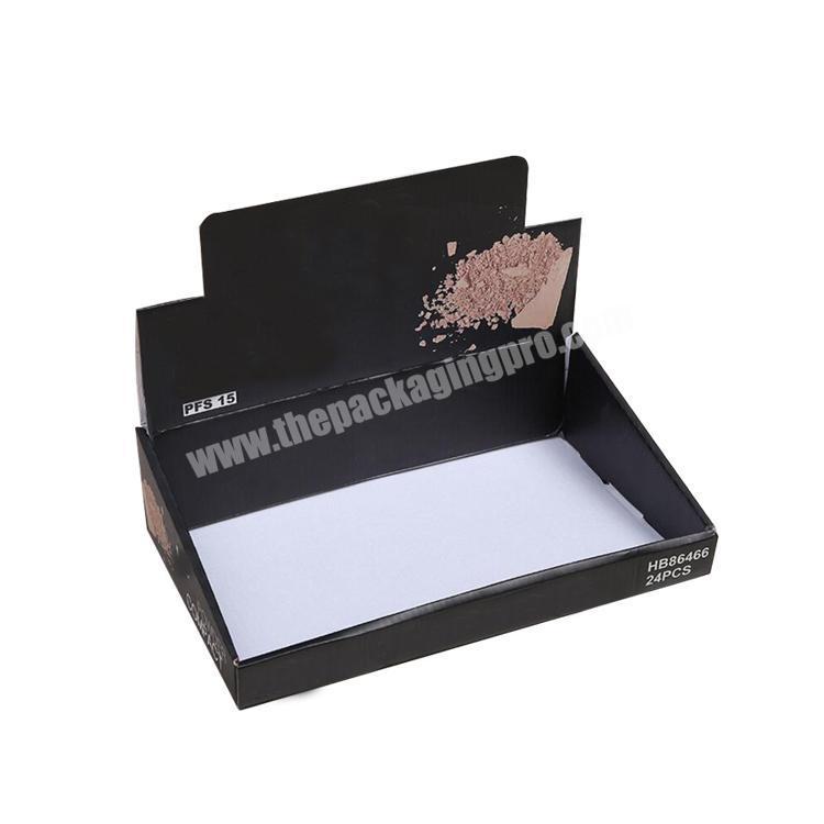 snack paperboard packaging box paper tray box cardboard display rack