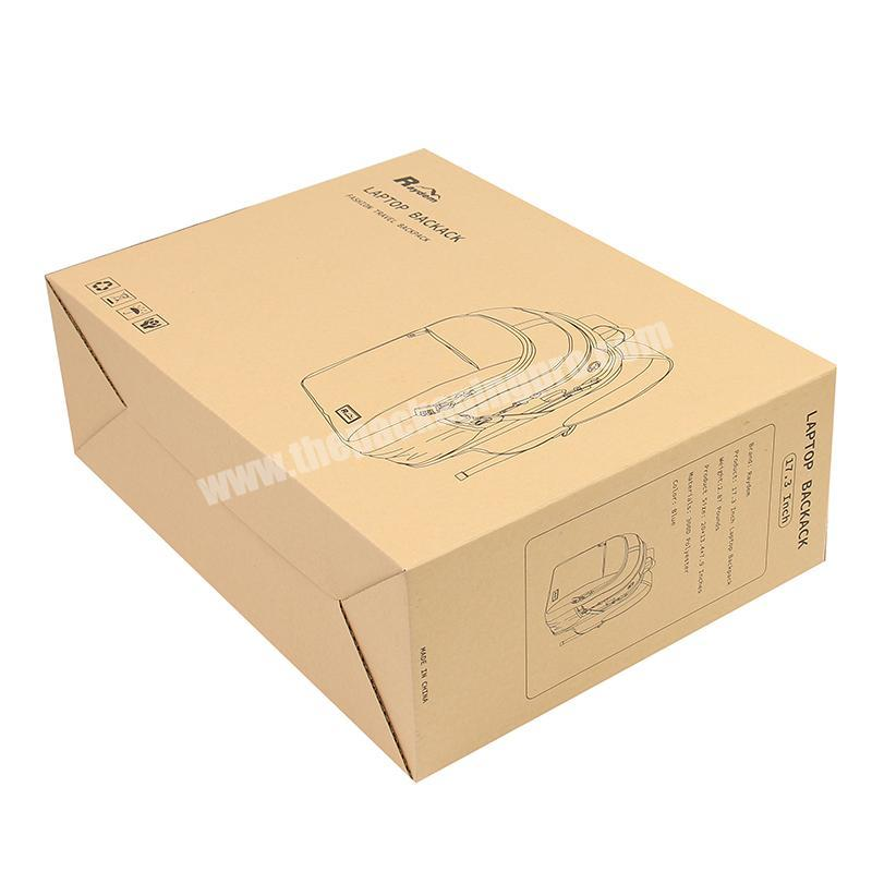 Sonpha Corrugated Box Paper Packaging Box Brown Cardboard Box For Transport Packing