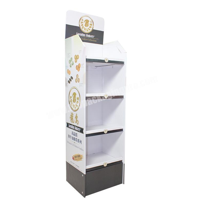 Source Manufacturers Wholesale Custom Supermarket Food Product Display Packaging Box