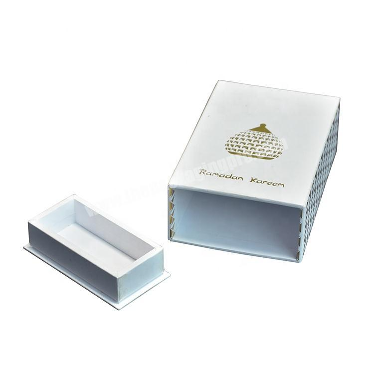 Factory Stamping Drawer Coated Paper Box Perfume Packing