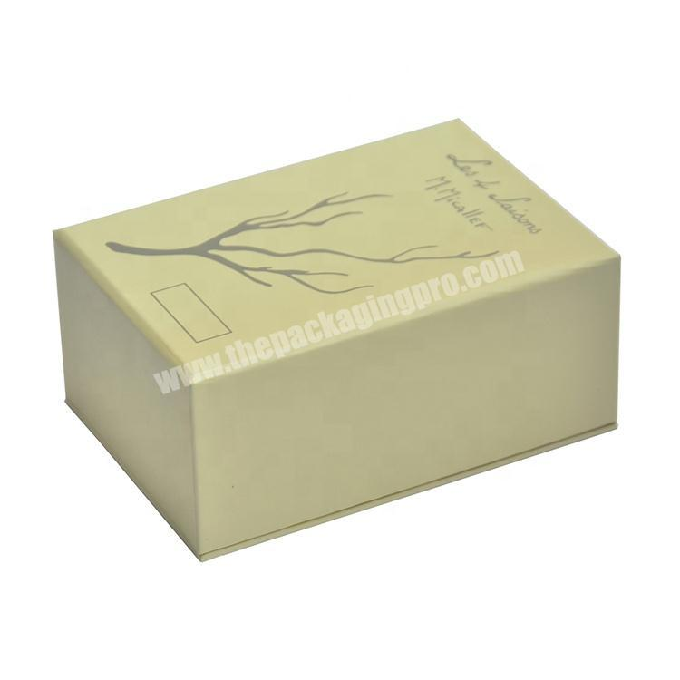 Wholesale Stamping Drawer Coated Paper Box Perfume Packing