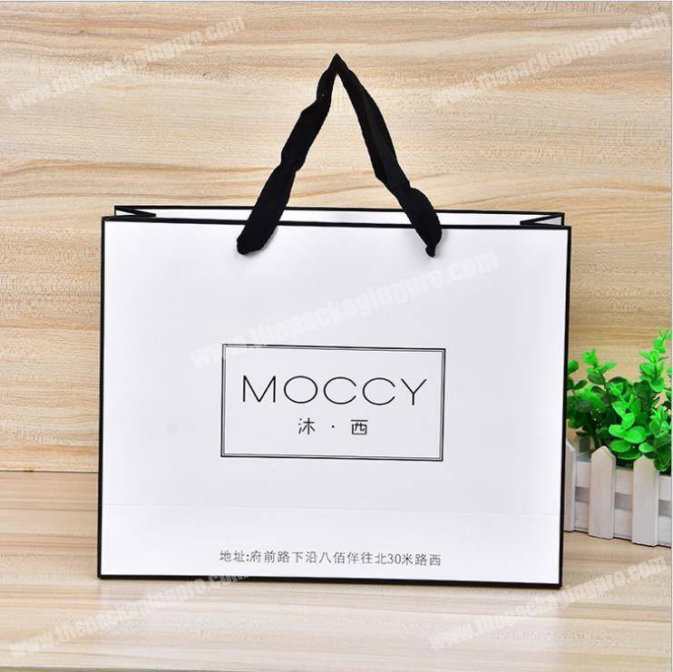 Standard size unique customized clothing paper bag