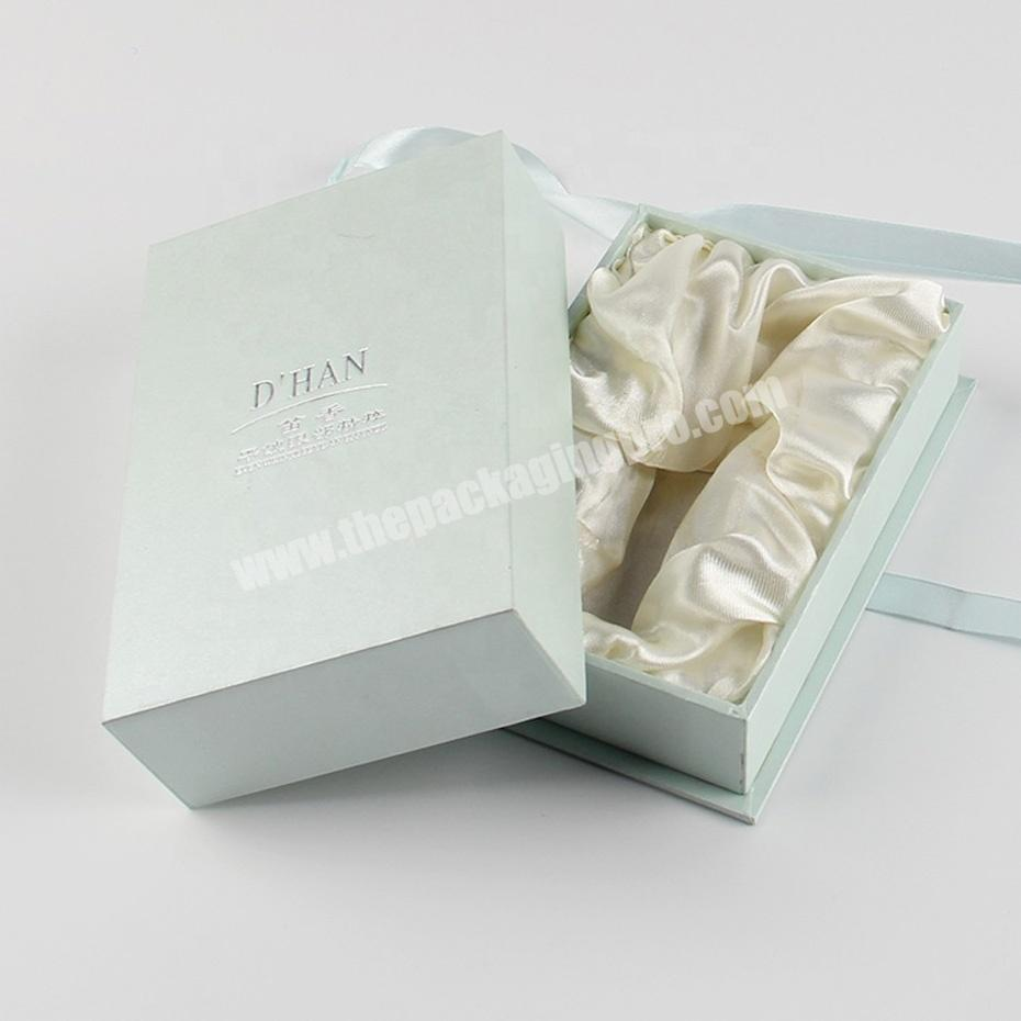 Wholesale sweet fabric wrapping cellophane perfume packaging boxes
