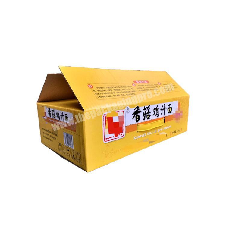 Custom takeout boxes with handle corrugated shipping boxes custom packaging box