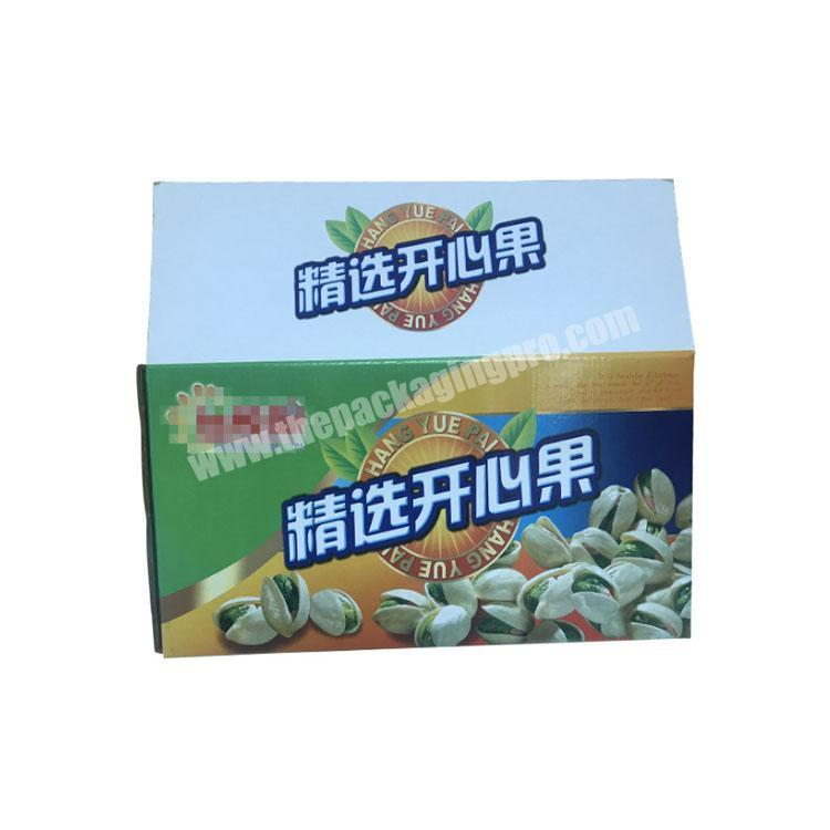 Manufacturer takeout boxes with handle corrugated shipping boxes custom packaging box