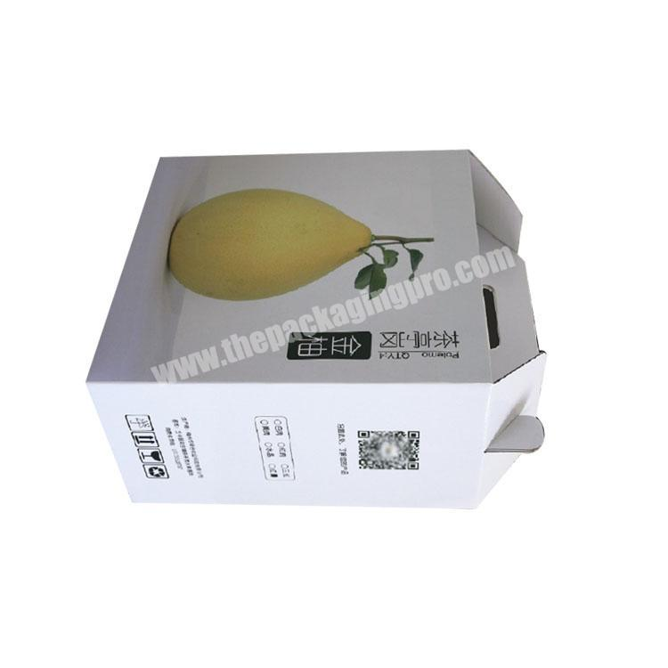 Supplier takeout boxes with handle corrugated shipping boxes custom packaging box