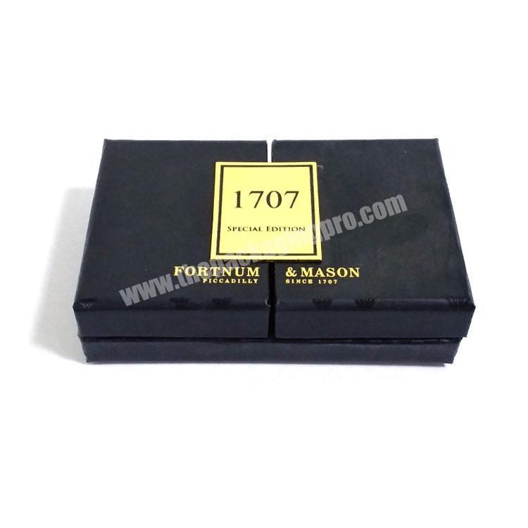 Supplier The latest handmade paper perfume packaging box sets luxury