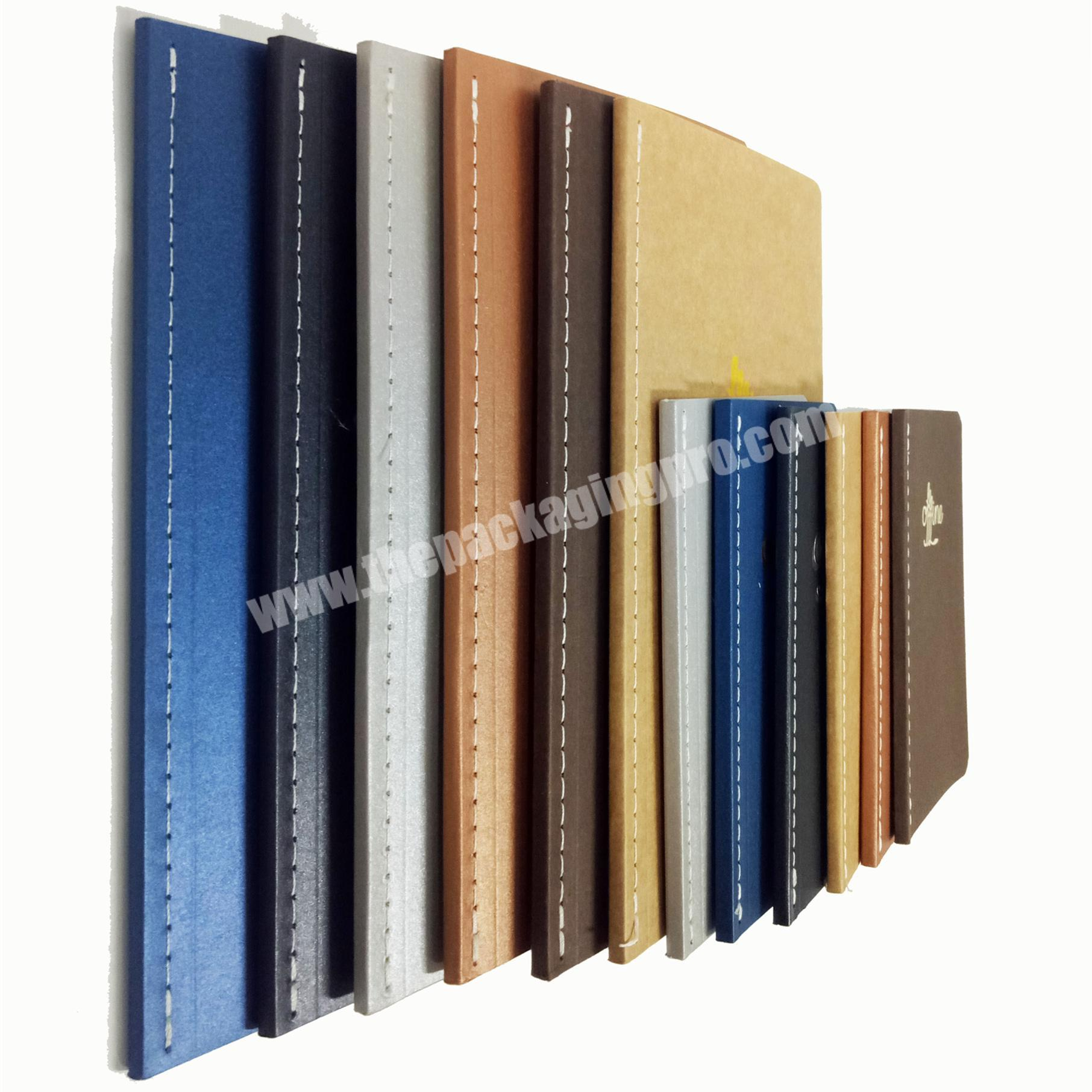 Top quality soft cover notebook school student diary writing journal custom week planner