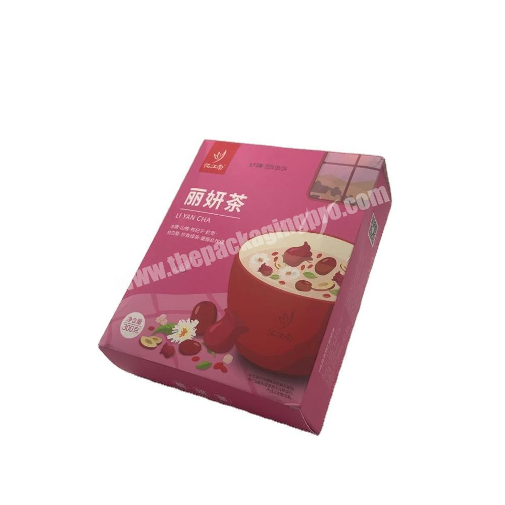 Unique design high quality creative food packaging box