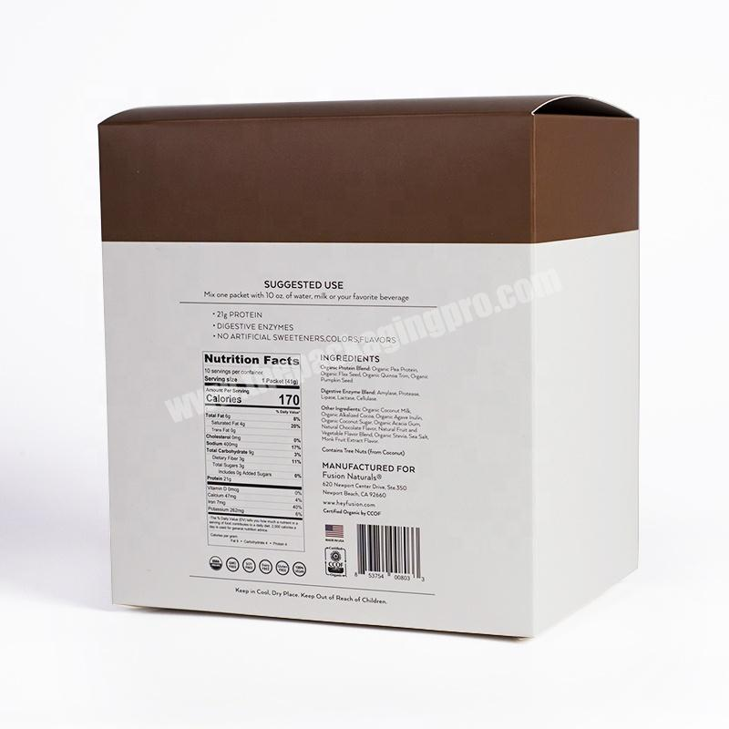 Wholesale Unique file box shape eco friendly skincare product cosmetic packaging box