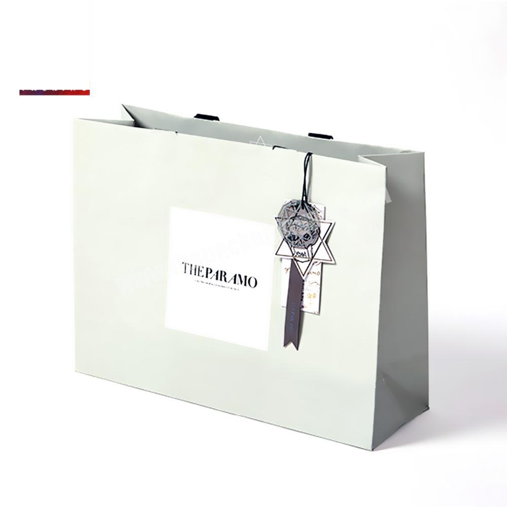 White China Gift High Grade Paper Bag Manufacturers With Handle