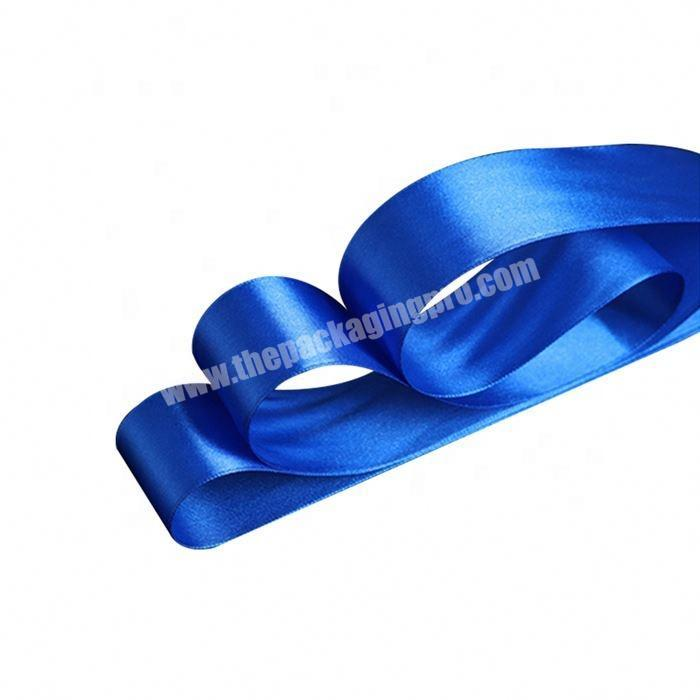 Supplier wholesale 2 Inch Double Face Satin Ribbon For Gift Box Packing
