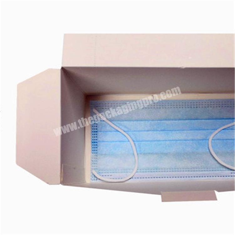 wholesale 3ply masks with box box for 100 masks