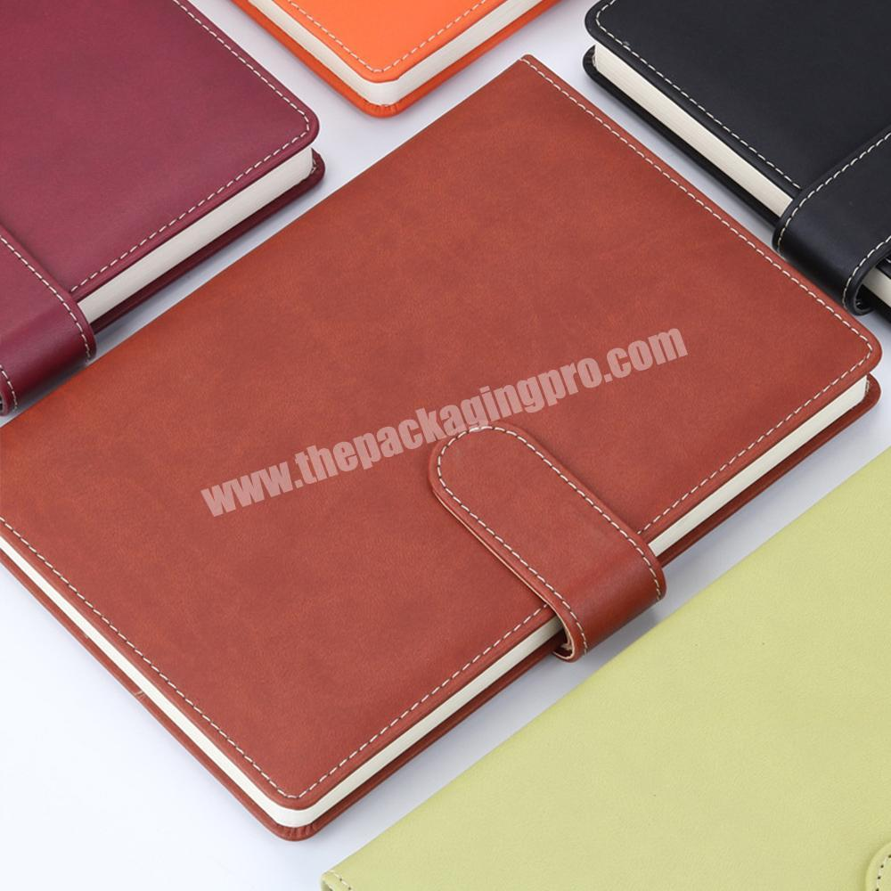 Supplier Wholesale A4 size Hardcover PU Leather School Stationery Classmate Lined Paper Notebook
