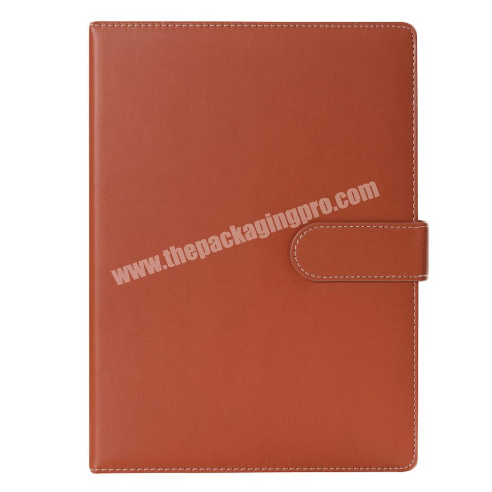 Manufacturer Wholesale A4 size Hardcover PU Leather School Stationery Classmate Lined Paper Notebook
