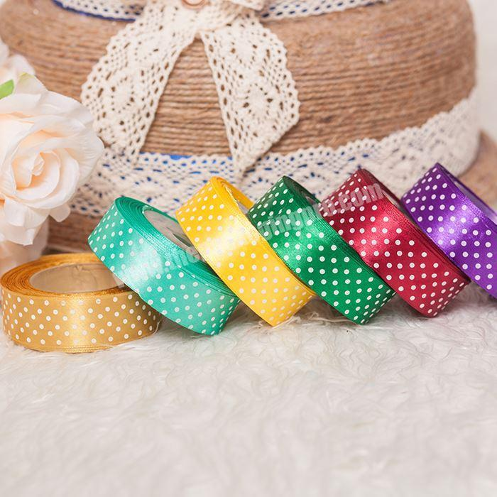 Factory Wholesale Beautiful Style Brand Name Printed Gift Ribbon