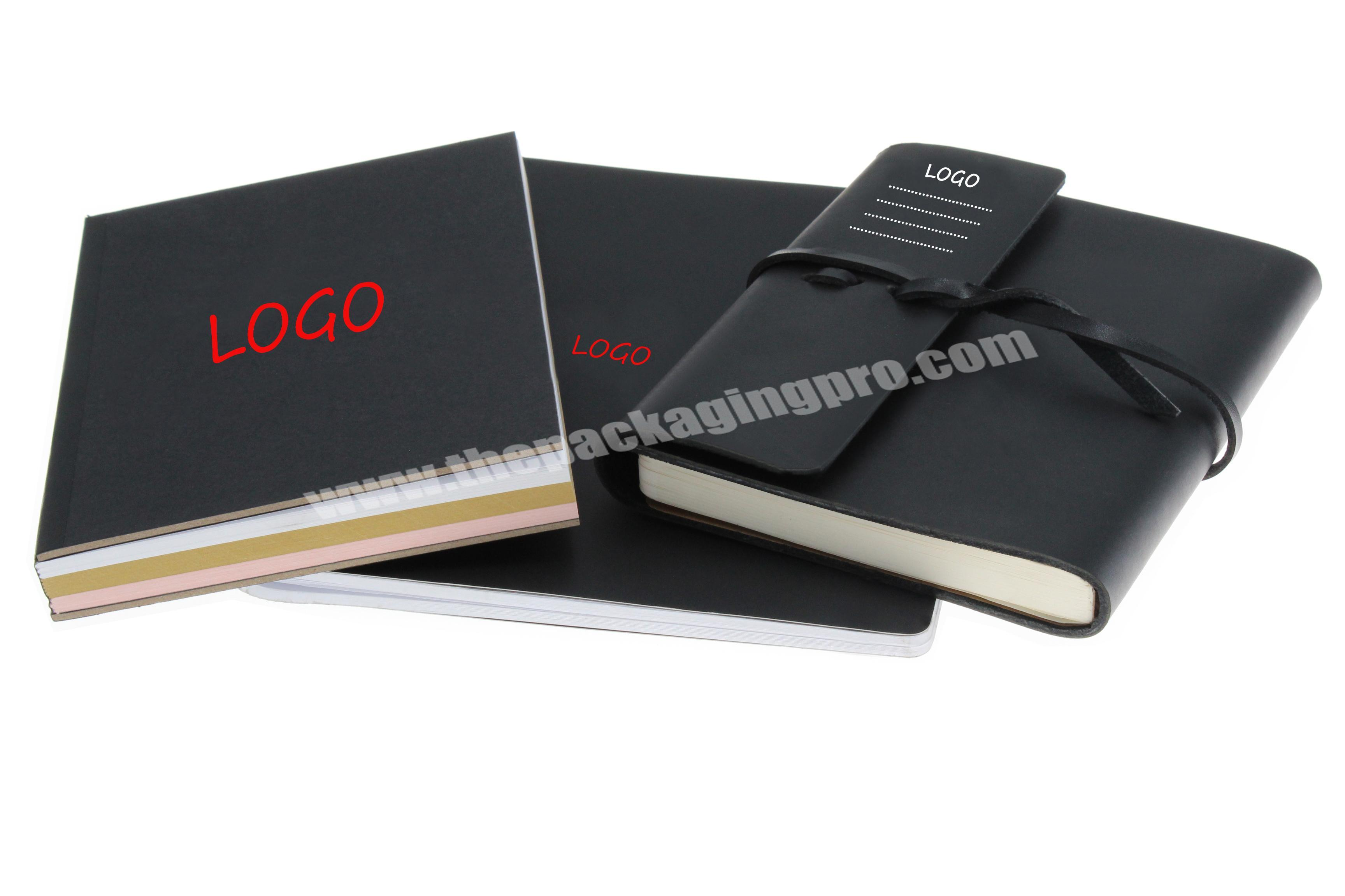 Wholesale wholesale cheap and cheerful custom logo fancy PU leather notebook