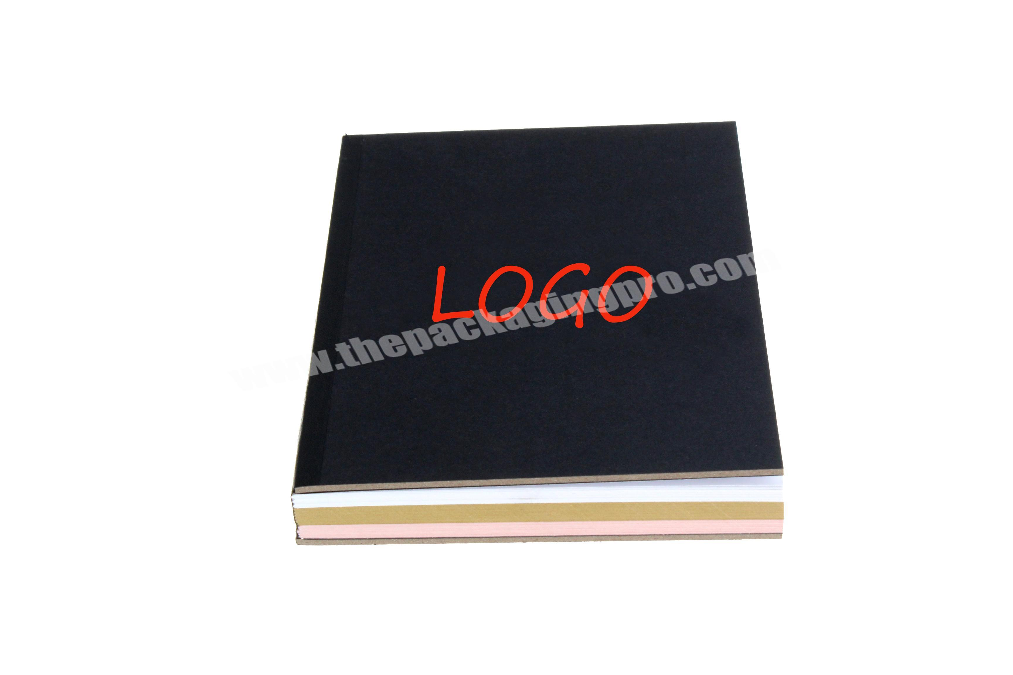 Shop wholesale cheap and cheerful custom logo fancy PU leather notebook