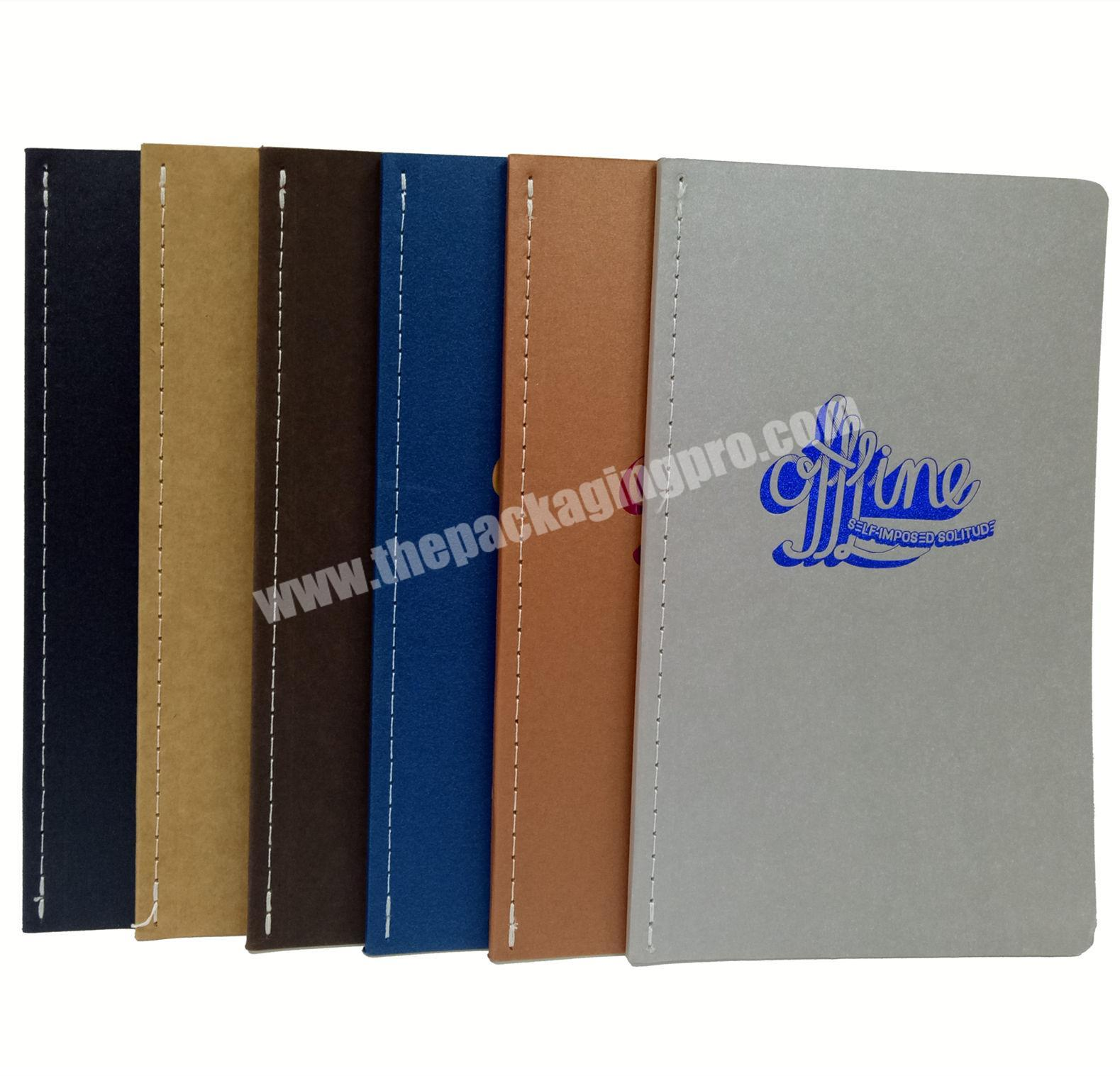 Wholesale cheap notebook promotional diary writing journal kraft planner