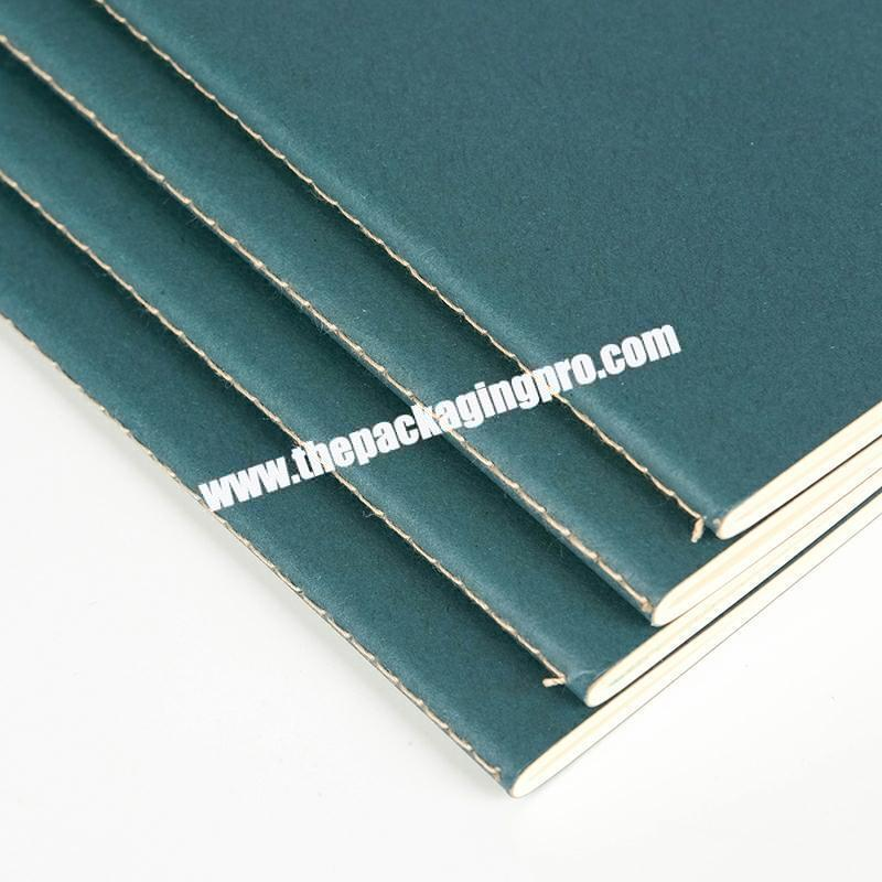 Wholesale Cheap Paper Saddle Stitching Exercise Notebook Note Book Eco-friendly Woodenfree Paper Notes For Student Classmate
