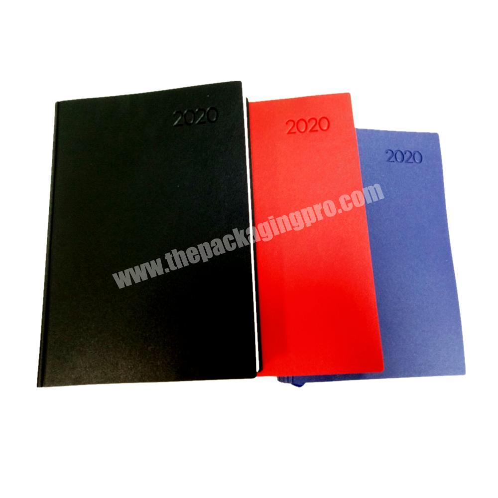 Wholesale composition notebook writing journal private planner leather cover diary