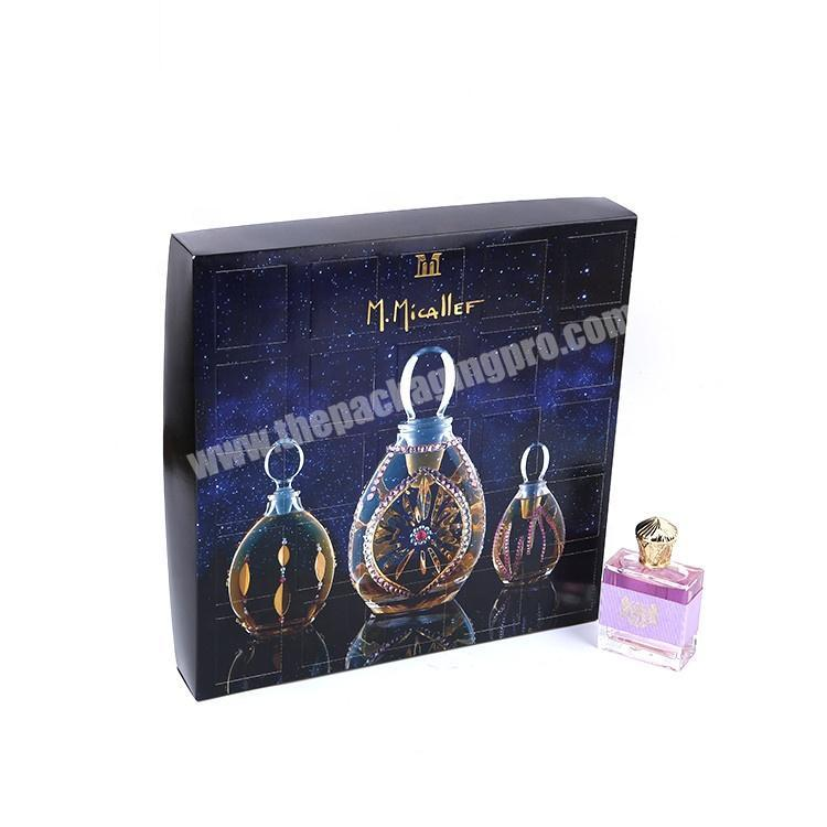 Shop Wholesale Custom Design Cardboard Cosmetic Packaging Perfume Gift Box With Inserts