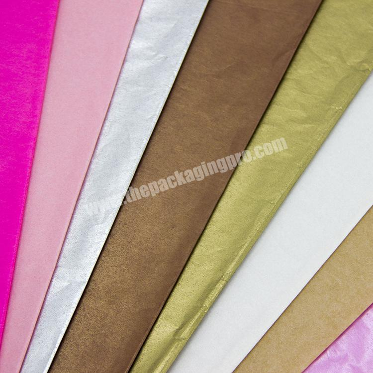 Wholesale custom different color  tissue wrapping paper