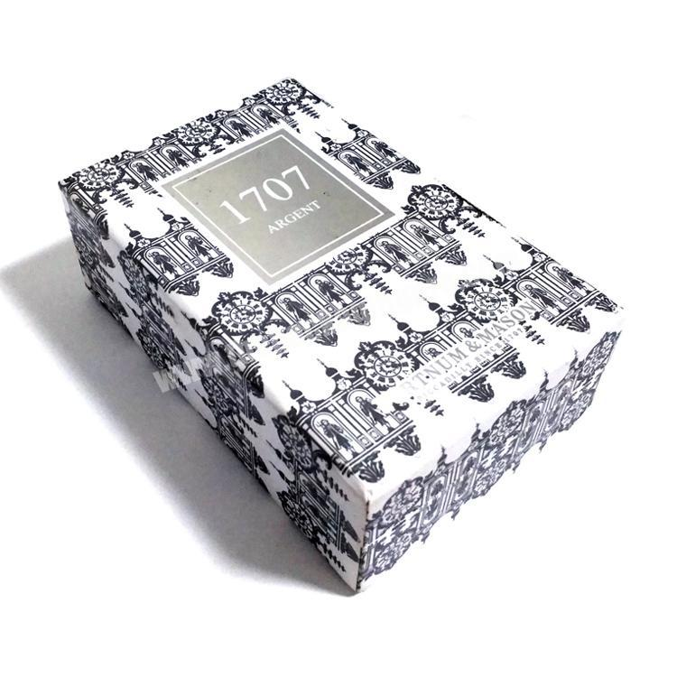 Shop Wholesale custom high-end paper perfume box luxury with EVA base tray