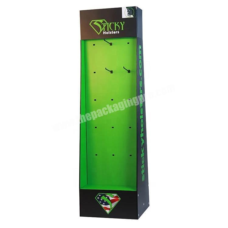 Wholesale Custom High Quality Corrugated Paper Display with Pot Hook