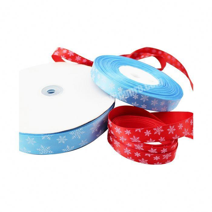 Manufacturer Wholesale Custom Personalized Double Face Printed Satin Ribbon