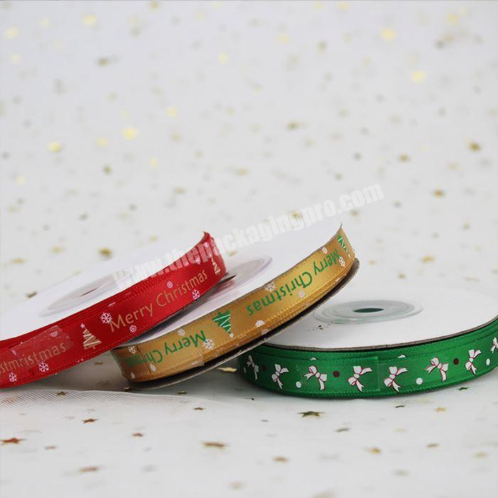 Shop Wholesale Custom Personalized Double Face Printed Satin Ribbon