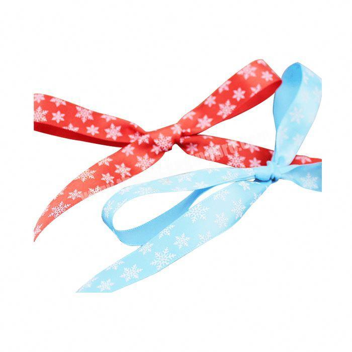 Factory Wholesale Custom Personalized Double Face Printed Satin Ribbon