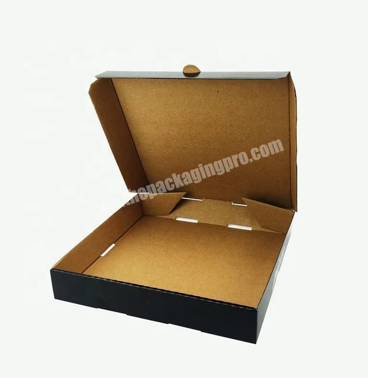 Wholesale Wholesale custom Pizza Kraft Paper High Quality Packaging Box