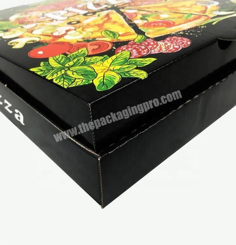 Factory Wholesale custom Pizza Kraft Paper High Quality Packaging Box