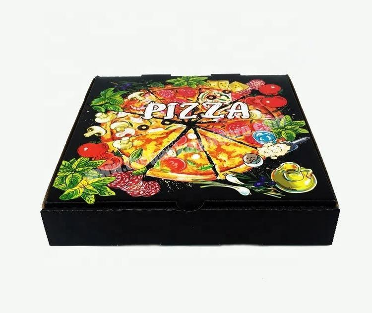 Manufacturer Wholesale custom Pizza Kraft Paper High Quality Packaging Box