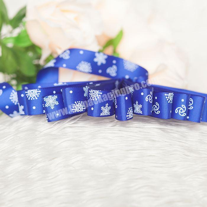 Wholesale Custom Printed 3.8 Cm Grosgrain Ribbon With Logo