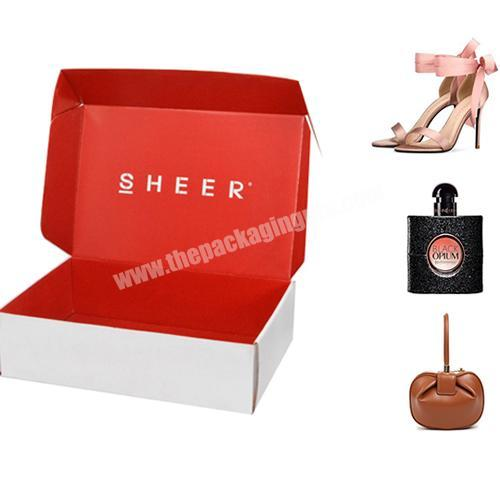 Wholesale Custom Shipping Boxes Can Be Used For Perfume Heels, Clothing Corrugated Recyclable Cardboard