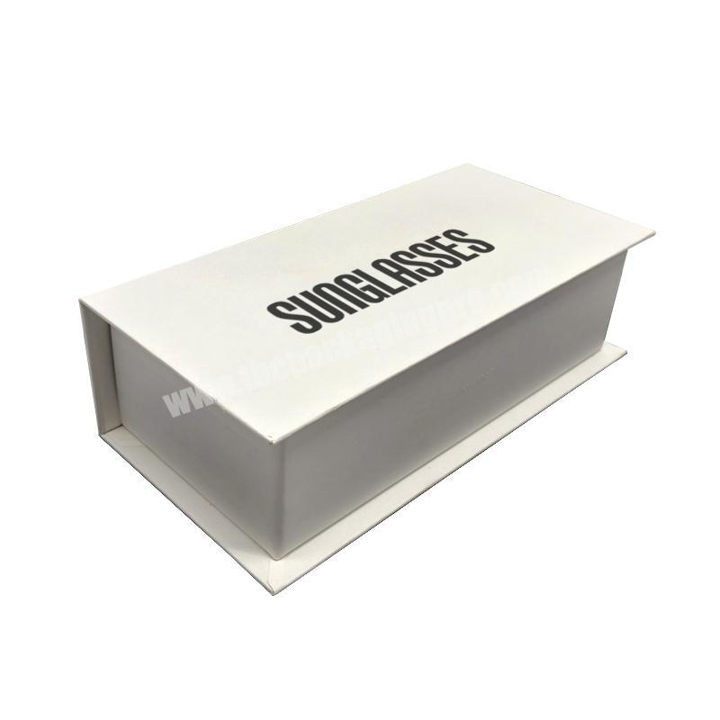 Wholesale Customize Magnetic Sunglasses Display Storage Box Glasses Paper box shipping Sunglasses Packaging Boxes